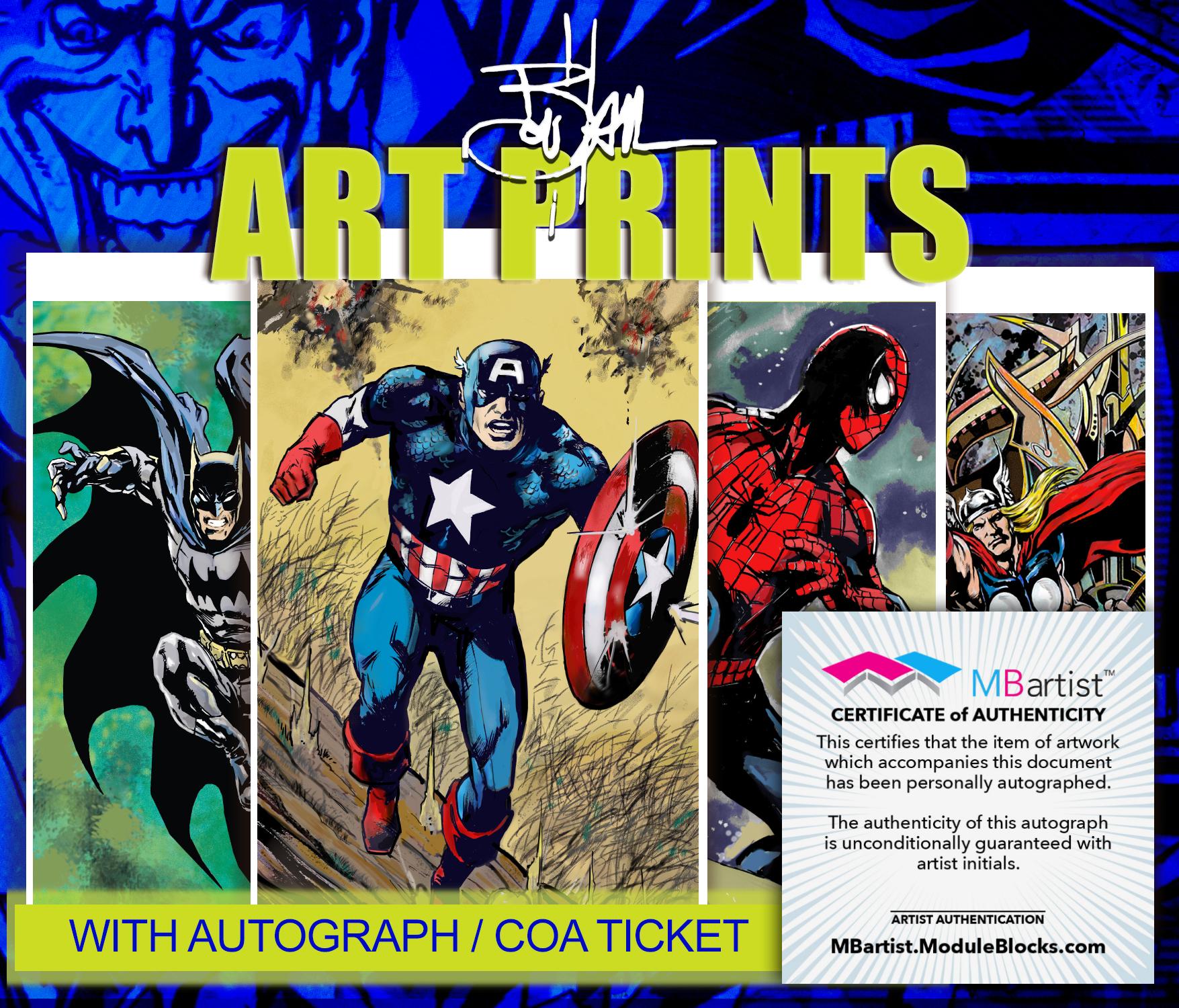 Art Prints Samples